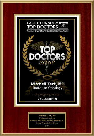 Awarded Castle Connolly Regional Top Doctor 2018 - Dr. Mitchell Terk