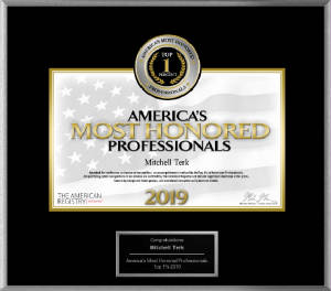 America's Most Honored Professionals 2019 Top 1 %
