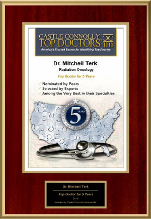 Mitchell Terk, MD: Regional Top Doctors 5th Anniversary