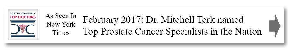 February 2017: Dr. Mitchell Terk named Top Prostate Cancer Specialists in the Nation