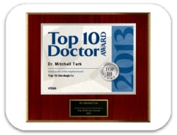Mitchell Terk, MD is awarded 2013 Top 10 Doctors Award